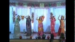 Indian Dance on English Song
