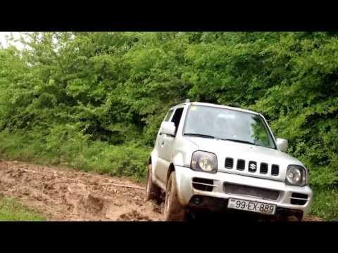 Nissan Patrol vs Suzuki jimny.Club4x4.az