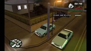 GTA: San Andreas glitches: Drive-by glitch
