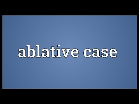 Header of Ablative Case