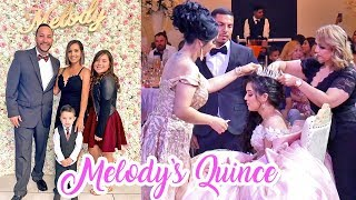 WE WENT TO MELODY'S QUINCEAÑERA | The Aguilars