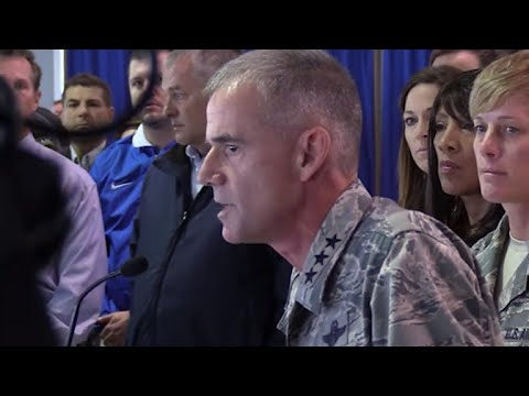 Hear Lt. Gen. Jay Silveria's full speech about racism at the Air Force Academy