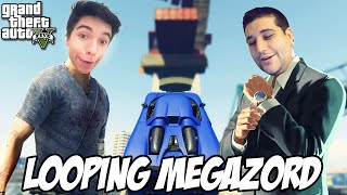 GTA 5 - Looping MEGAZORD, robozinho do capeta