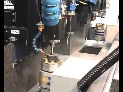 DATRON InLine CNC: Multi-Head / Custom Configurable Production Line Machining