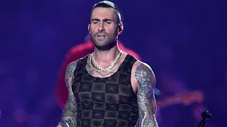 Adam Levine Breaks His Silence On Super Bowl Drama