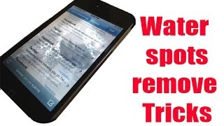 download lagu How To Remove Water Spots From A Cell Phone gratis