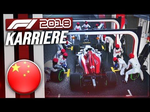 F1 2018 KARRIERE PART 3 WECHSELHAFTES WETTER IN CHINA! DeutschGerman