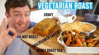 How to make a roast dinner #5 | Vegetarian Roast