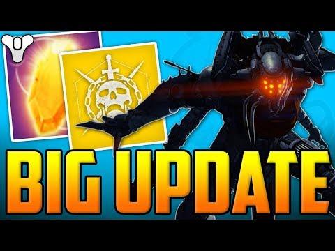 Destiny 2 BIG UPDATE - Three Of Coins, Raid MODS, Exotic Changes, Masterwork Armors, Bright Engrams