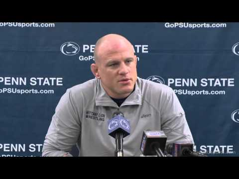 Wrestling Media Day: Head Coach Cael Sanderson Presser Image 1