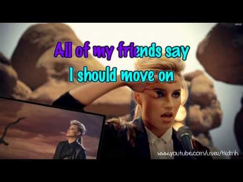 The Killers - Just Another Girl Karaoke instrumental video