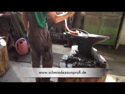 Zaunschnörkel 155x100 mm Laub-Verzierung Schmiedeeisen Zaun Garten Torbau 07-223
