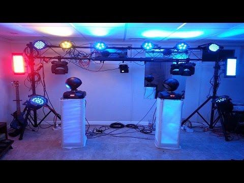 DJ Tips - Hanging DJ Lights - How To
