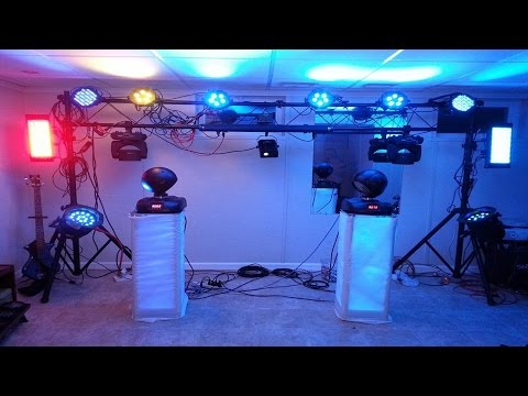 DJ Tips - Hanging DJ Lights - How To