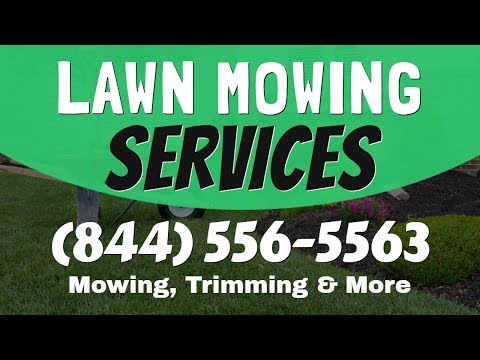 Lawn Mowing Service McFarland WI | 1(844)-556-5563 Grass Cutting Service