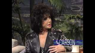 Johnny Carson and Elizabeth Taylor on Marriage on Johnny Carson