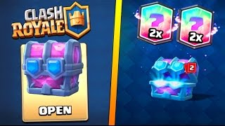 ULTIMATE CHAMPION ''DRAFT CHEST'' OPENING :: Clash Royale :: TWO LEGENDARY CARDS IN ONE CHEST!