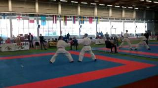 Serkan Yagci (TUR) vs. (LAT) open BUDO CUP ESTONIA TALLIN 2011.mp4