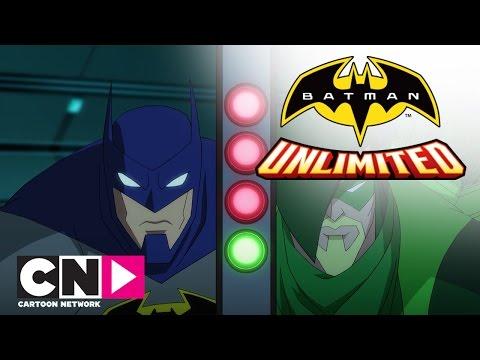 Тренировка супергероев | Бэтмен без границ | Cartoon Network