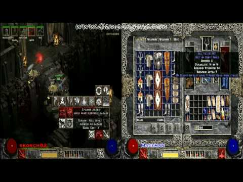 Diablo 2: LOD Co-Op Playthrough w/Commentary [PC][HD] - Act 4 Q1: A - Part 52: Searching For Izual