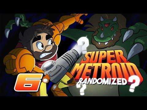 Super Metroid Randomizer  Lets Play: Samus is Afraid of Crabs Ep 6  Super Beard Bros