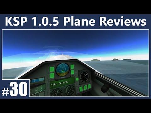 (KSP 1.0.5) Plane Reviews Ep. 30 - MiG-9. Su-27. & More!