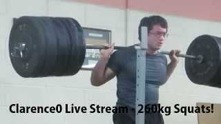 clarence0 Live Stream - Training Session with Eoin Murphy