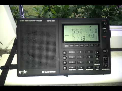 Eton G3 - Clear Signal MJ0CTR from North Jersey