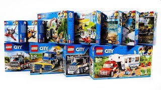 COMPILATION LEGO CITY GREAT VEHICLES
