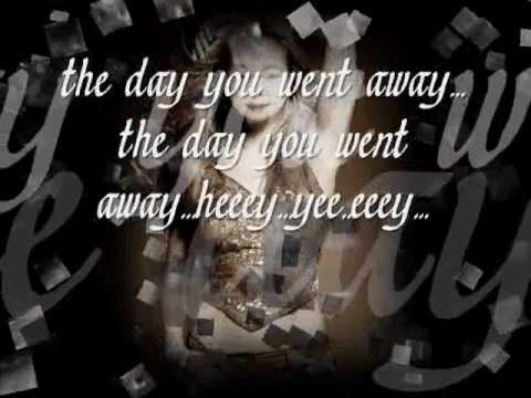 The Day You Went Away M2m Lyrics video
