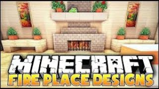 How to make a working fireplace in minecraft