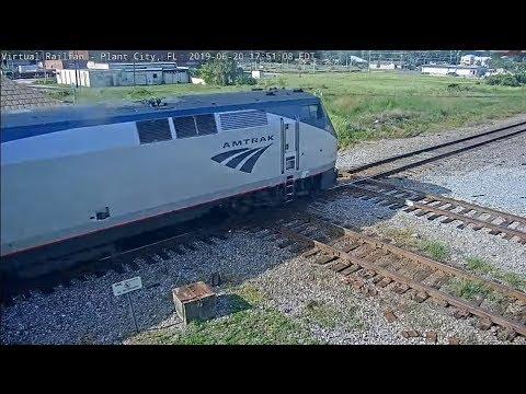 Plant City, Florida USA - Virtual Railfan LIVE