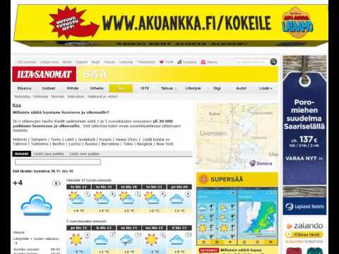 www iltasanomat fi vaalikone Tampere