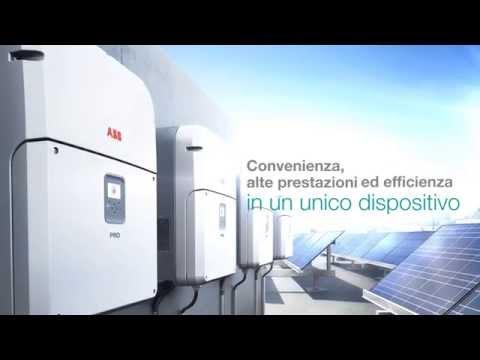 Inverter fotovoltaico ABB: PRO-33.0-TL-OUTD