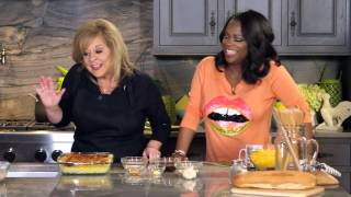 Watch Kandi Burruss boss Nancy around in the kitchen! - Cooking with Nancy Grace