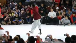 Bboy Machine destroy the beat