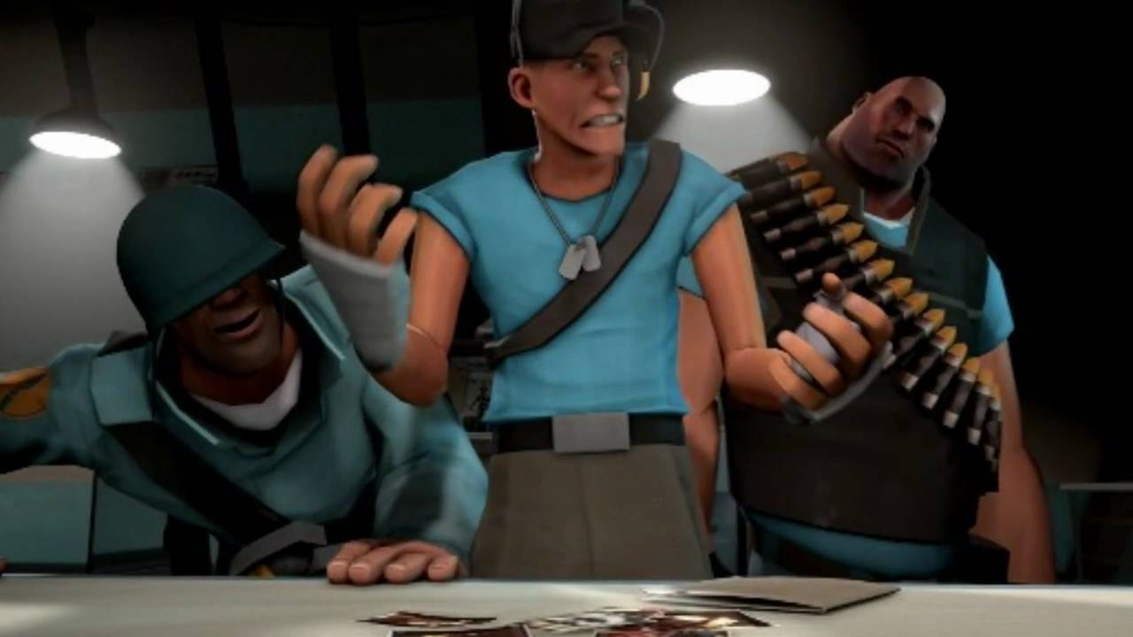 tf2 meet the spy bloopers