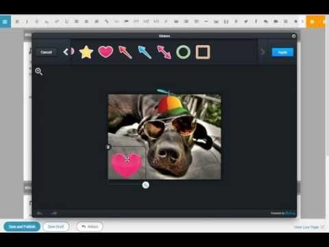 Конструктор сайтов с фото редактором AVIARY - GitHub конструктор сайтов на поддоменах