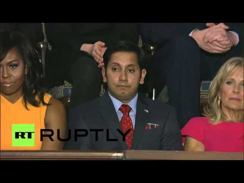 USA: Obama talks Cuba, Ukraine & Gitmo at State of the Union address