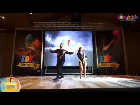 Karen - Kacey Salsa Salsa Dance Performance | EDF-2018