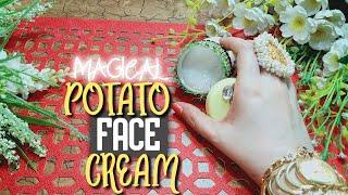 DIY Potato Face Cream For Skin Lightening, Dark Spots & Pigmentation (Just Need 7 Days)