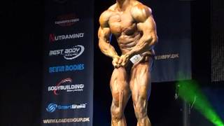 Ripped, shredded and flex! Kenneth Robert Jensen