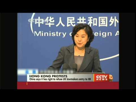 China refuses UK lawmakers entry to HK