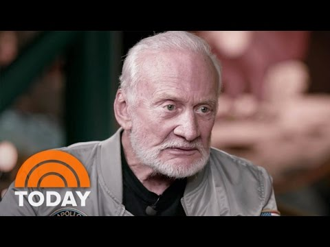 Buzz Aldrin Talks South Pole Health Scare, Death Of 'All-American Guy' John Glenn | TODAY