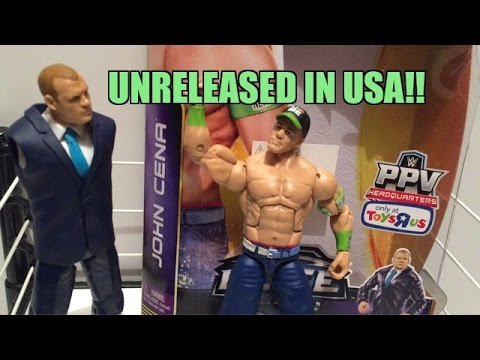 WWE ACTION INSIDER: John Cena ToysRus Exclusive Elite PPV Wrestling Build A Figure
