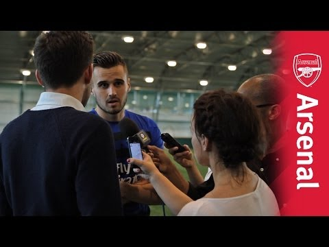 Behind the scenes on FA Cup final media day