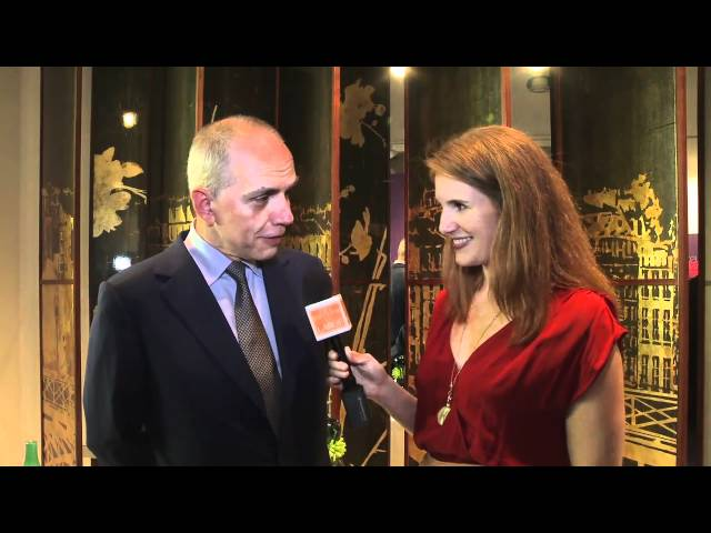 Robert Couturier Editor at Large interview (clip)
