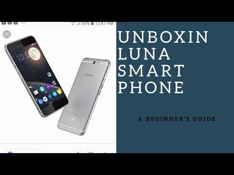 Unboxing Luna cell phone