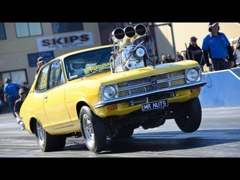 Pro Street Blown drag racing - APSA Sydney