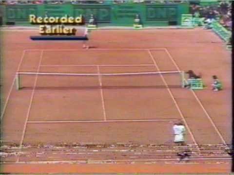グラフ vs Zvereva 全仏オープン 決勝戦(ファイナル)  1988